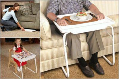 Állítható kisasztal széleskörű felhasználása