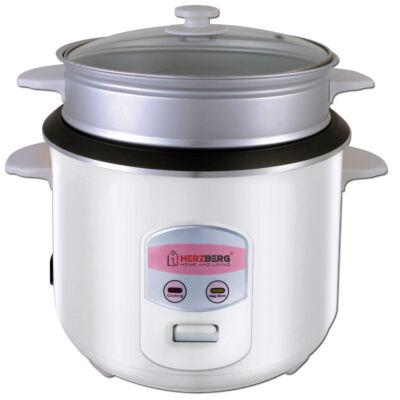 Herzberg rizsfőző és pároló készülék hőtartó funkcióval